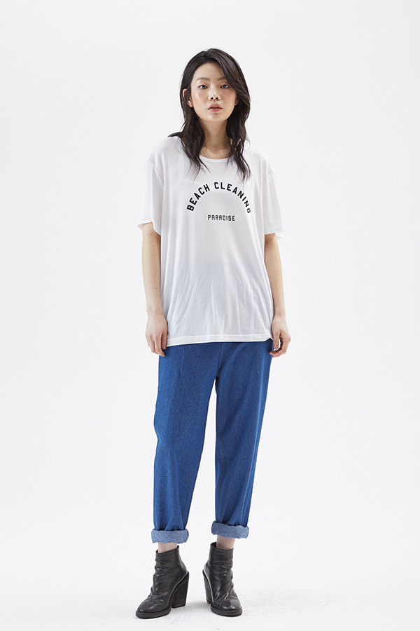 [19SS] BEACH CLEANING JERSEY T-SHIRT (JSST211)