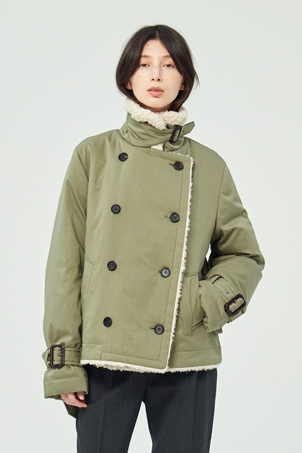 [20FW] AVIATOR GOOSE DOWN TRENCH JACKET (JTJJ116-60) (박혜수 착용)